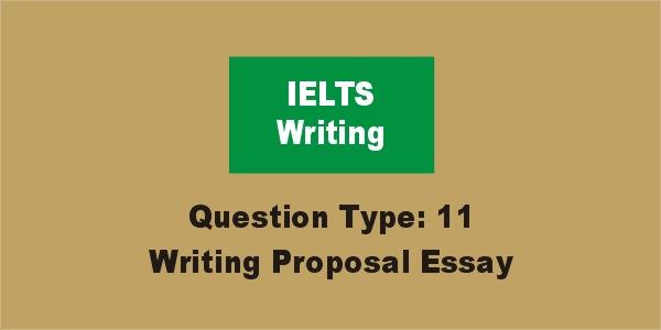 task 2 proposal essay